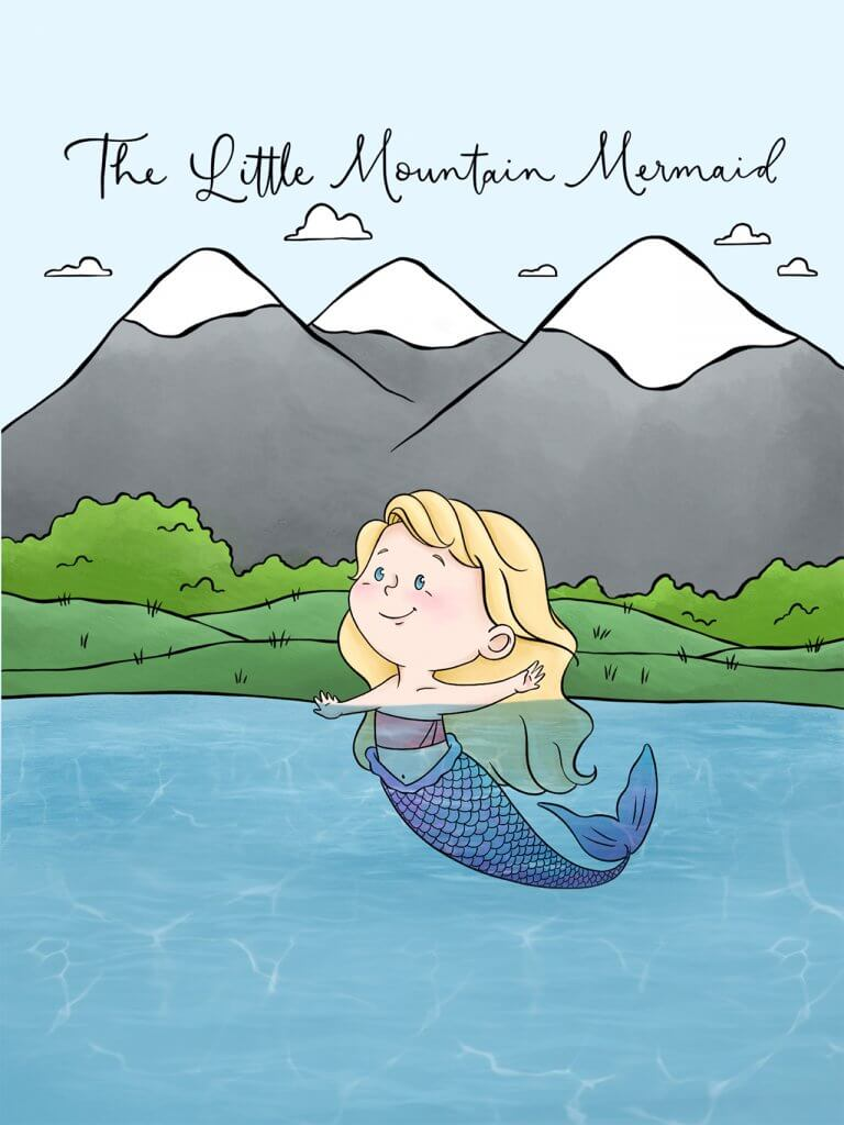 The Little Mountain Mermaid book cover