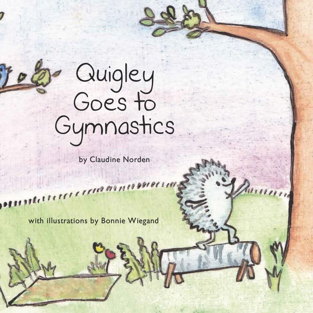 Quigley Goes to Gymnastics book cover